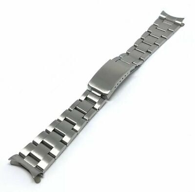 20mm Oyster Bracelet Stainless Steel High Quality Compatible With Many Brands