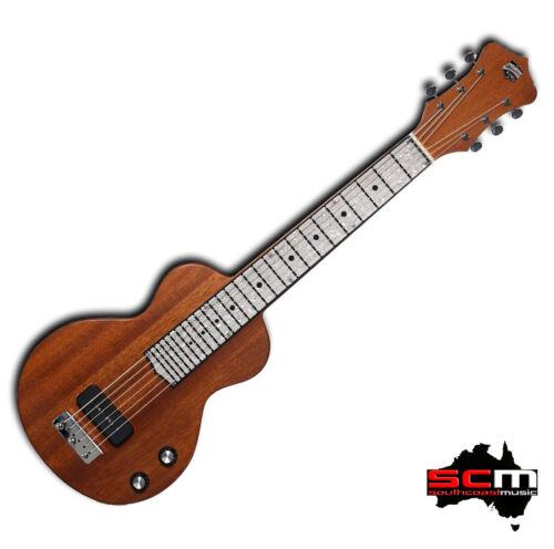 Recording King RG31NA Lap Steel Guitar P90 Pickup Nat Satin Mahogany Lapsteel