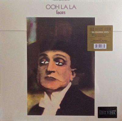 FACES - OOH LA LA - LIMITED EDITION ..Red .COLOURED +Poster..VINYL LP -Neu-OVP