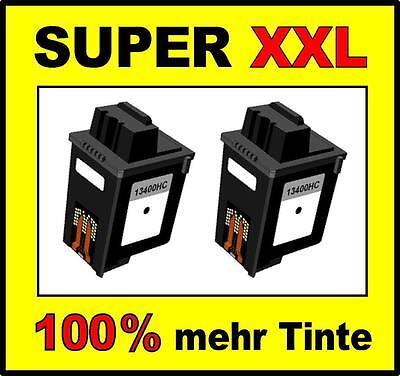2 x Tinte für Samsung SF-3000 SF-3100 SF-3200 wie 15M0640 M10 Cartridges BLACK