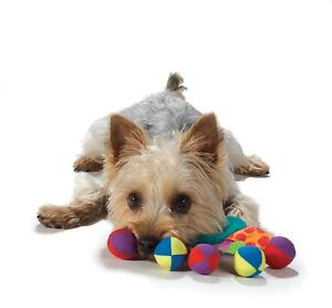 PETSTAGES - MINI FUN! TOSS & SHAKE SOFT TUG DOG TOY FOR SMALL DOG/PUPPY