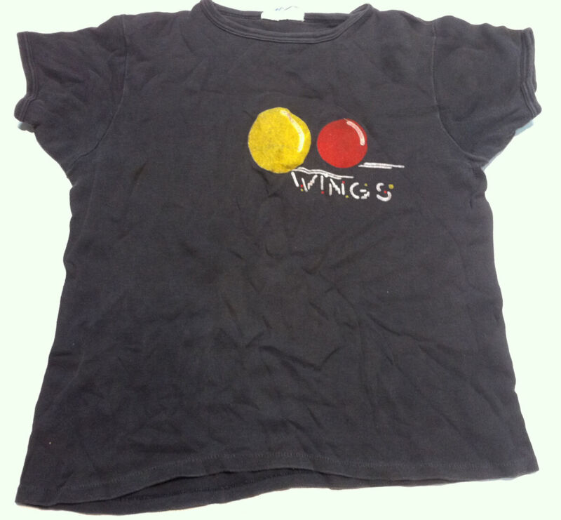PAUL McCARTNEY WINGS Venus And Mars Rare Vintage 1975 Promo T-Shirt BEATLES