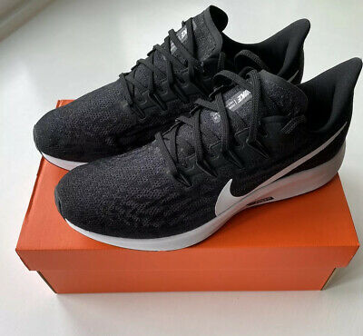 Nike Air Zoom Pegasus 36 Black White-Thunder Grey UK10 - BRAND NEW RRP£120 Lot