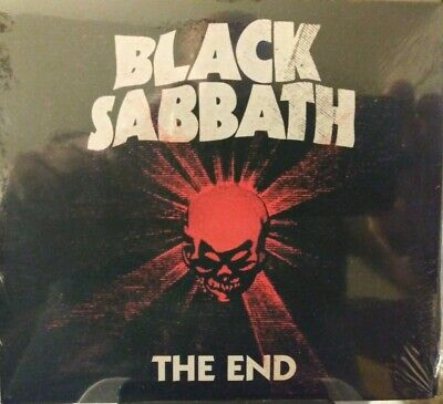 BLACK SABBATH THE END CD RARE SOLD AT CONCERTS ONLY CD CARDBOARD CASE NEW/SEALED
