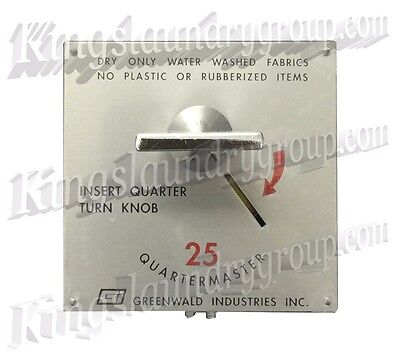 Oem Greenwald 120v Square Face Coin Meter For Dryers A B Switch 59-3200-15-1