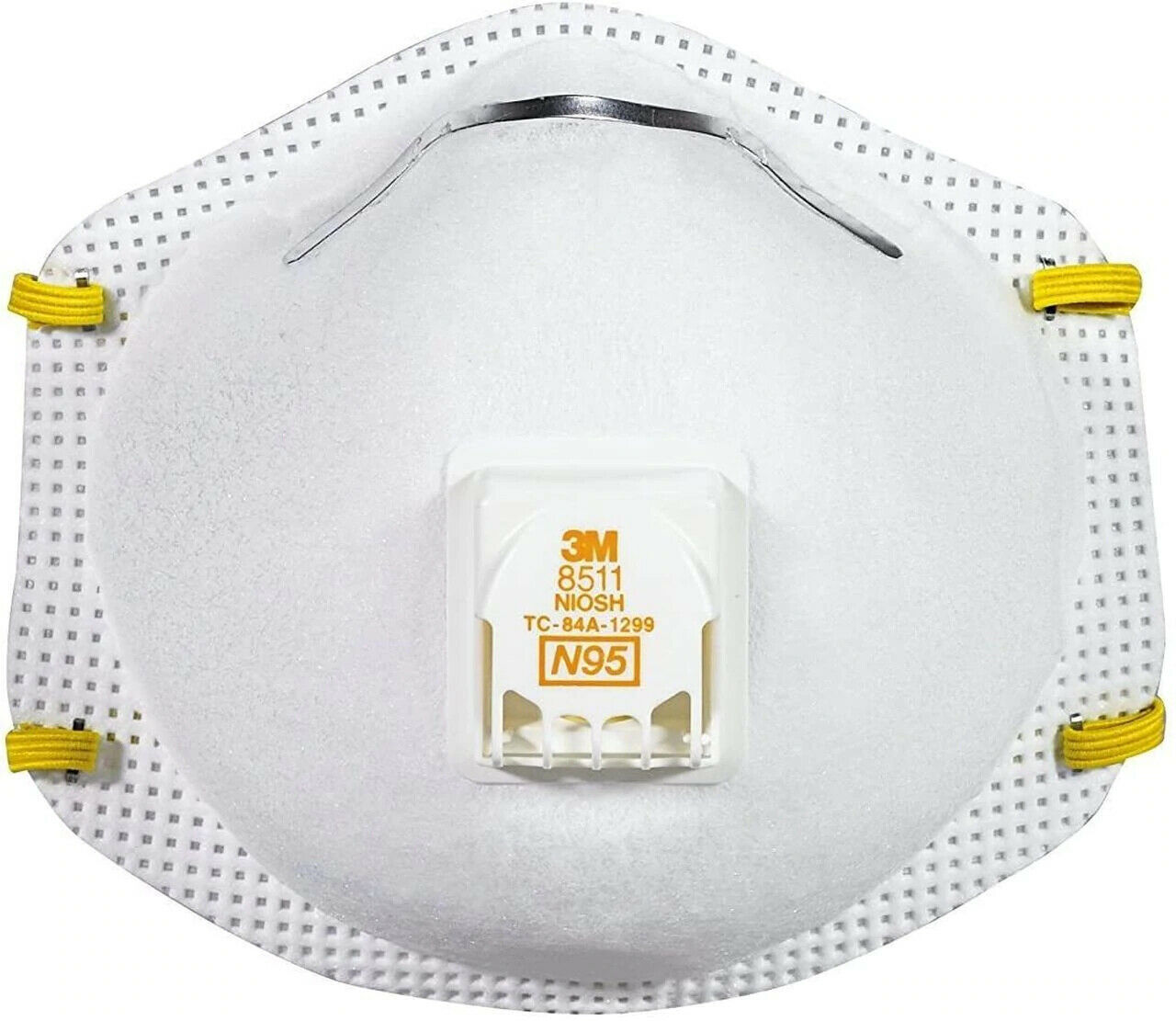 1 EACH- 3M 8511 N95 Particulate Respirator Face Mask W/Exhalation Valve EXP 2026 Business & Industrial