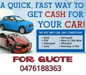 Get cash for any car in any condition Blacktown Blacktown Area Preview