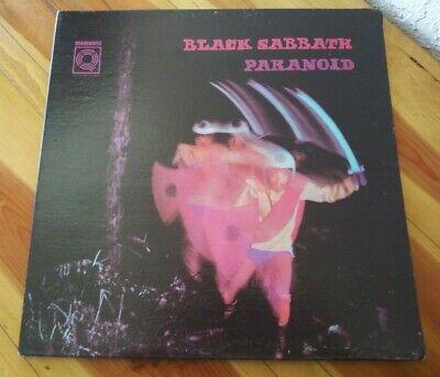 Black Sabbath Paranoid Quadradisc Original Vinyl Lp WS4 1887 0698 1974 WB.