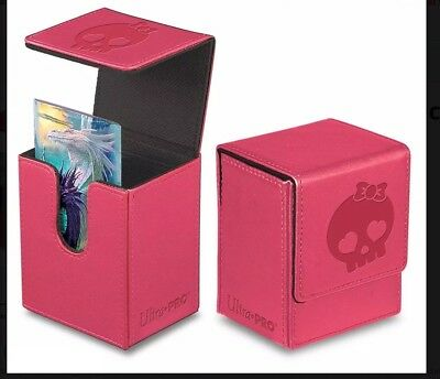 MTG Ultra Pro Force of Will -  Magic  PINK Flip Deck Box ()