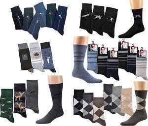 Moderno-Calcetines-de-hombre-con-motivos-informaticos-algodon