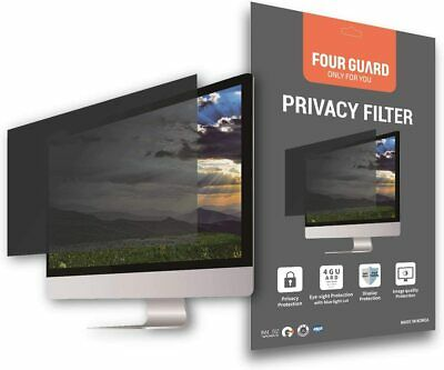 """Four Guard Privacy Screen Filter for Computer Monitor 24"""" 16:10 Widescreen"""