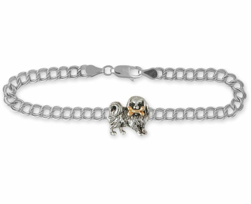 Japanese Chin Bracelet Jewelry Silver And 14k Gold Handmade Chin Bracelet JC1N-T