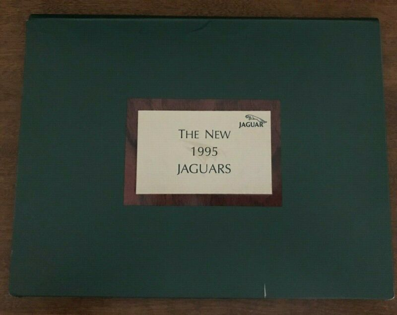 1995 Jaguar Auto Show Press Kit