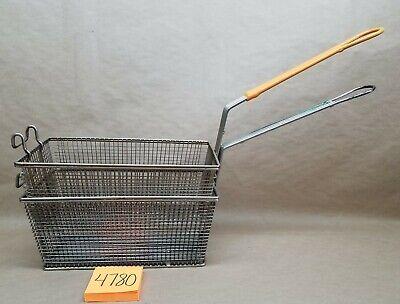 Lot Of 2 Commercial Deep Fryer Baskets 12 6 6 Kitchen Restaurant