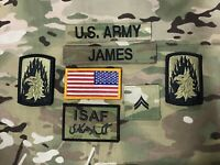 US ARMY MULTICAM OCP NyCo Military PATROL CAP Mütze Tarnmütze tab