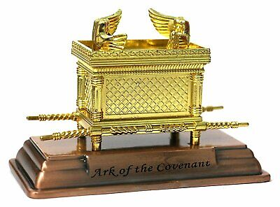 """The Ark of the Covenant Gold Plated Table Top Mini - 2"""" X 1.50"""" X 1.10"""""""