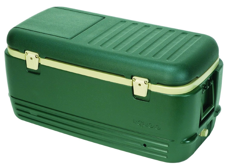 New igloo cooler 100 quart ice box chest vintage insulated - Igloo vintage ...