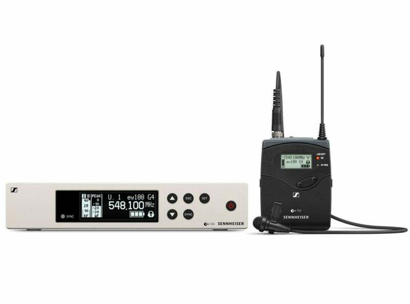 Sennheiser EW 100 G4-ME2 Wireless Lavalier System (A Band)