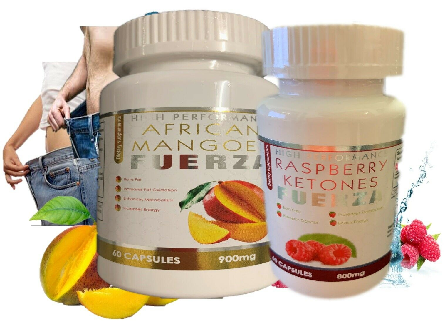 Pastillas para el control de peso y apetito quemadoras de grasa abdominal kit