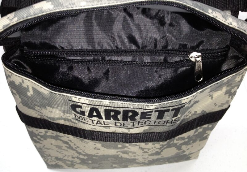 Garrett camo pouch with belt, treasure trowel and probe купи.