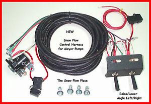 snow plow wire harness raise lower angle for meyer e47 e57 e60 new ebay