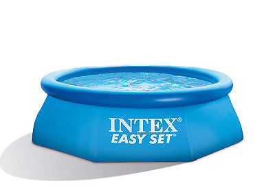 """Intex 8' x 30"""" Easy Set Inflatable Above Ground Swimming Pool 