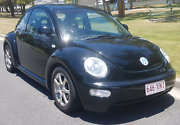 2000 Volkswagen Beetle Auto with rego and roadworthy  Labrador Gold Coast City Preview