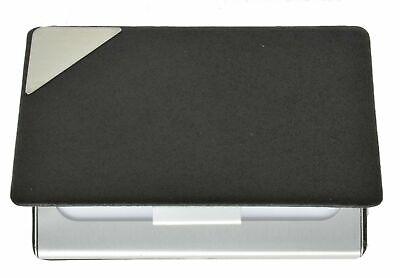 New Black Pocket Metal Business Id Credit Card Holder Case Wallet