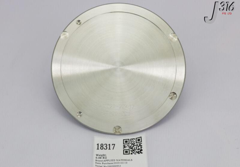 """18317 Applied Materials Disk 8"""" B101 Ti Shutter 0021-20437"""