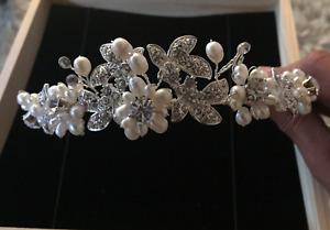 Crown accessory for bride - accessoires de marriage