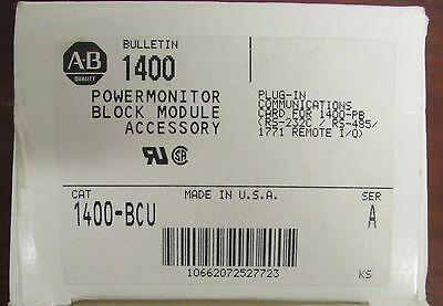 Allen Bradley 1400 Bcu Plug In Communications Power Monitor Module 1400-bcu