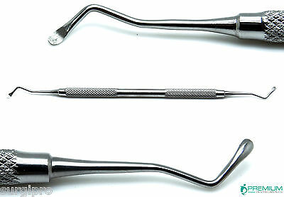 Dental Excavator 19w Restorative Double Ended Spoon 2mm Premium Instruments