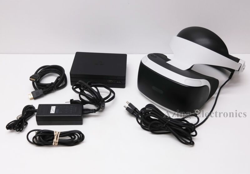 Sony PlayStation VR CUH-ZVR2 Virtual Reality Headset