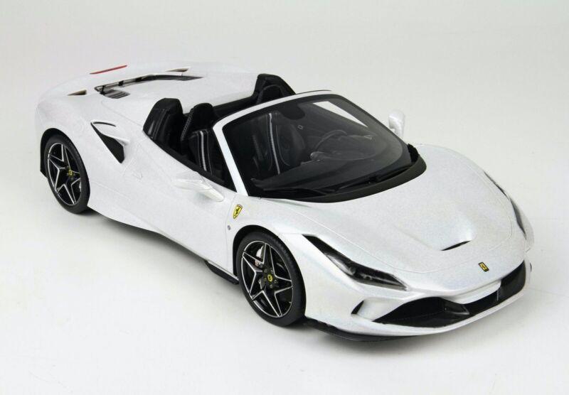Bbr Ferrari 1 18 2020 Blanco Reflectante Arana F8 Edicion Limitada 2 De 18 Produjo Solo Ebay