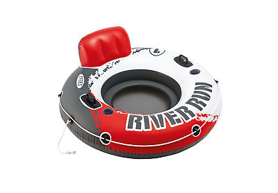Intex River Run I Red Fire Edition Inflatable Water Tube Lake River Pool 56825EP
