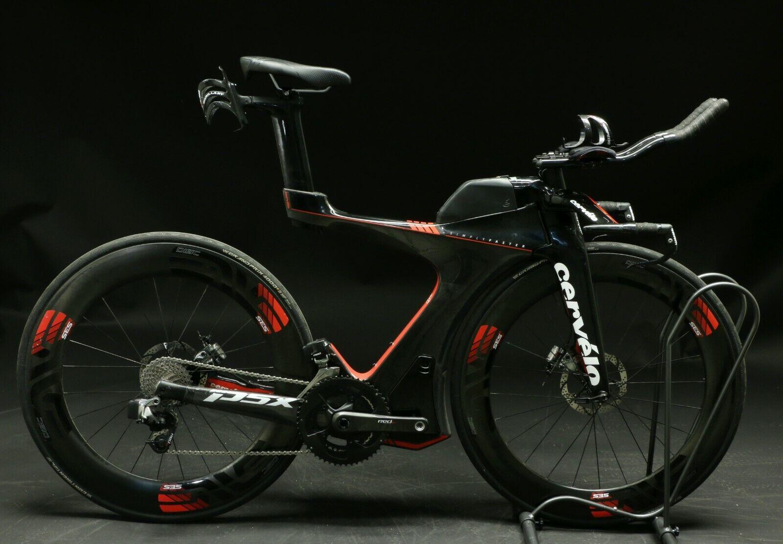 2018 Cervelo P5x Triathlon Bike Medium Carbon SRAM Red eTap ENVE SES Demo Model (Used - 8499.99 USD)