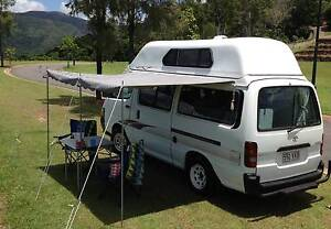 Campervan for HIRE - 2000 Toyota Hiace Caravonica Cairns City Preview
