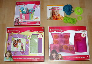 4 american girl diy craft kits creative caddy bulletin for American girl craft kit