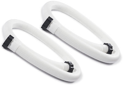 2 PACK Intex 1-1/2 inch Accessory Hose Above Ground Pool Pump Replacement 1.5""