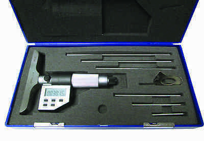 0 - 6 0 - 150mm Electronic Depth Micrometer