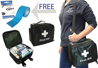 Medical Field Kit Bag (BST 257 Piece Field Sports Premier Physio Run On Full Medical First Aid Kit Bag )