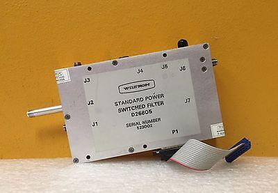 Wiltron Ansritsu D26805 20.0 Ghz Lpf Standard Power Switched Filter Assy.