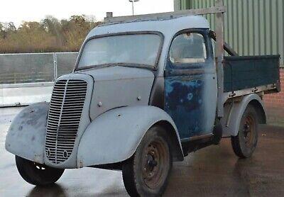 Ford E38W pickup retro Barnfind restoration project haulage hot rod