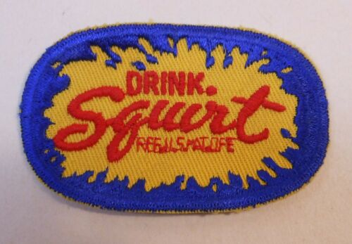 """Vintage Squirt sew on Patch..2"""" x 3.25"""""""