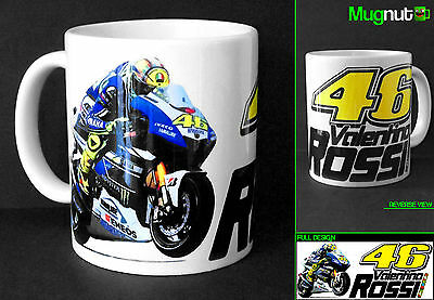 Valentino Rossi #46 - Ceramic Mug - The Doctor Moto GP Yamaha  - 11oz TYP2