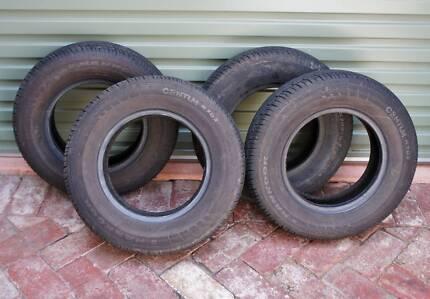 Set of 4 Tyre 155 / 80 / R12 77T   HANKOOK CENTUM K702