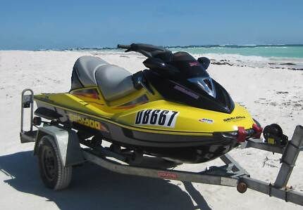 SEADOO Bombardier 185HP Supercharged GTX LIMITED on trailer Safety Bay Rockingham Area Preview
