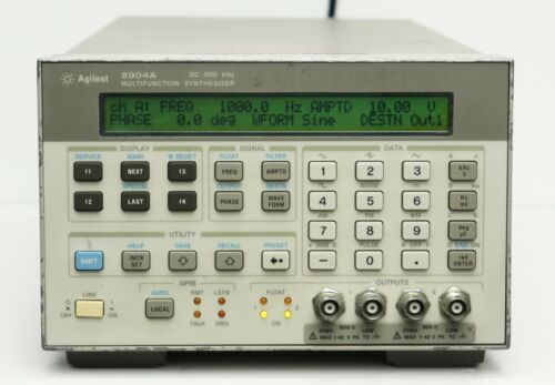 HP Keysight 8904A Dual Channel Multifunction Synthesizer DC-600 kHz opts. 2 & 6