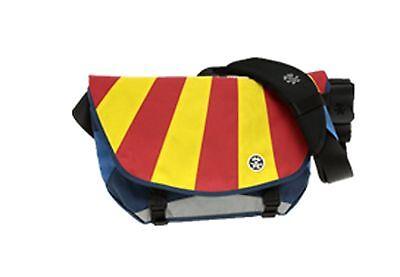 Crumpler The Barney Rustle Blanket Messenger Bag (Navy/Royal Blue Red/Yellow)
