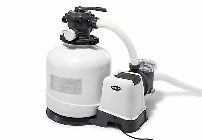 Intex Krystal Clear 3000 GPH Above Ground Swimming Pool Sand Filter Pump 26651EG